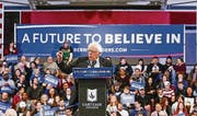 Ob der Demokrat Bernie Sanders von Google profitiert, ist nicht klar. (Bild: epa/Tannen Maury)