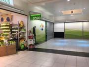 Die Rollläden sind unten: Gleich vier Ladenflächen stehen aktuell im Pizol Center in Mels-Sargans frei. (Bild: Elke Schwizer)
