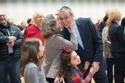 Er hat gut lachen: Wolfgang Giella hat beste Chancen, Gossauer Stadtpräsident zu werden. (Bild: Ralph Ribi)