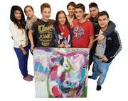 Frauenfeld TG - Schueler der Timeout-Schule in Frauenfeld werden ihre Kunstwerke in der Baliere Galerie ausstellen. Bild: Nana do Carmo / TZ 06.06.2012 (Bild: Nana do Carmo / TZ)