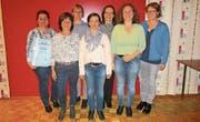 Der Vorstand des Samaritervereins Lutzenberg/Wienacht. (Bild: PD)