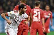 Bayern München startet mit einem 3:1-Sieg ins neue Jahr (Bild: Sascha Steinbach/EPA)