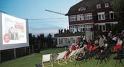 Auf die Plätze, Film ab! Filmbegeisterte auf dem «Hofberg». (Bilder: Christof Lampart)