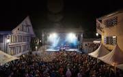 Ob auf dem Postplatz in Appenzell jemals wieder ein Festival stattfindet, ist derzeit fraglich. (Bild: APZ)