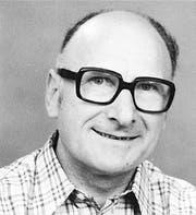 Ernst W. Alther, 1918 – 2013. (Bild: Archiv «Volksfreund»)