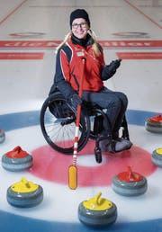Claudia Hüttenmoser war diese Saison für Turniere bereits in Schottland, Kanada, Finnland und Dänemark. Nun folgt Südkorea. (Bild: Urs Bucher)