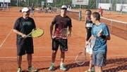 Spannende Tennismatchs wurden am Toggenburg Open und an den Meisterschaften ausgetragen. (Bild: PD)