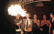 Die Musikschüler und der Zirkus spannen fürs 40-Jährige zusammen. (Bild: pd)