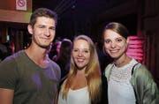 Dominik Niederer, Miranda Schneller und Nadine Köchli (Bilder: tgplus.ch/Chris Marty)