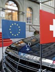 Die Interessen der Schweiz und der EU zeigen nicht immer in dieselbe Richtung. (Bild: Peter Klaunzer /Keystone)