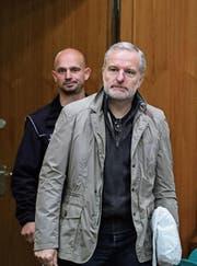 Daniel Moser wurde in Deutschland wegen Spionagetätigkeit zu einer bedingten Freiheitsstrafe von einem Jahr und zehn Monaten verurteilt. (Bild: Armando Babani/EPA (Frankfurt, 9. November 2017))