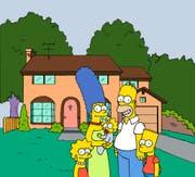 Die Simpsons waren vor 30 Jahren erstmals am Bildschirm zu sehen. Obwohl sie nicht gealtert sind, sahen sie damals noch ganz anders aus. (Bild: Keystone)