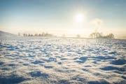 Wird es in der Ostschweiz an den Weihnachtstagen Schnee haben? Diesmal sind weisse Weihnachten nicht auszuschliessen (Bild: Andrea Stalder (Archivbild))