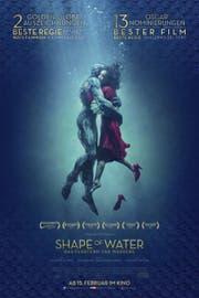 """Bester Film: (Wird gewinnen) """"The Shape of Water"""" - Eine stumme Putzfrau verliebt sich in einen Fischmann. Das Fantasymärchen ist pure Kinomagie mit einem Schuss Hollywood-Nostalgie. Und Faschismuskritik, wie """"Pans Labyrinth"""". (Bild: Getty)"""
