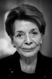 Lys Assia wurde 94 Jahre alt. Diese Aufnahme stammt aus dem Jahr 2008 und wurde im St.Galler Hotel Einstein gemacht. (Bild: Michel Canonica/Archiv)