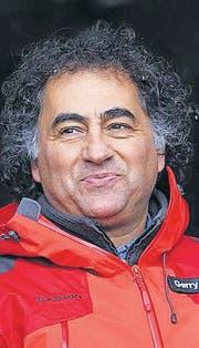 Gerry Hofstetter Lichtkünstler aus Zumikon (Bild: ky/Urs Flüeler)