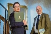 Seit zehn Jahren engagieren sich Rudolf Lutz und Konrad Hummler für Bachs Vokalwerk. (Bild: Ralph Ribi)