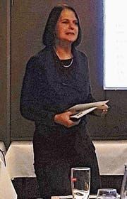 Referentin Claudia Friedl, Nationalrätin. (Bild: PD)
