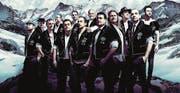 Die erfolgreiche Gruppe Heimweh: Ein Männerchor im Trachtenlook, kein Jodlerchor. (Bild: PD)