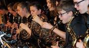 Am Bläserevent der Musikschule Wil sind auch die Bläserkids zu hören. (Bild: PD)