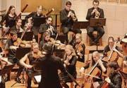 In sinfonischer Besetzung: Das Jugendorchester Thurgau begeisterte bei seinem Auftritt in Romanshorn. (Bild: Markus Bösch)