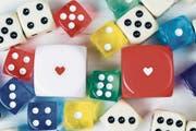 Ein bisschen Spass zu zweit: Gesellschaftsspiele tun der Beziehung gut. (Bild: Cronislaw (iStockphoto))