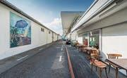 Gutes Bauen in der Ostschweiz. Industrieareal auf der alten Konservenfabrik St. Gallen in Winkeln. Atelier von Alex Hanimann. (Bild: Hanspeter Schiess)