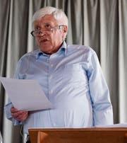 Gerhard Frey präsidiert den Verein Spitex Rotbachtal. (Bild: CAL)