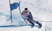 Josua Mettler in Aktion: Er sichert sich die Goldmedaille. (Bild: pd)