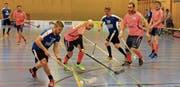 Freut sich aufs spezielle Erlebnis: Remo Tischhauser (am Ball) vom UHC Rangers Grabs-Werdenberg. (Bild: Robert Kucera)