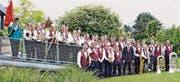 Die Sennwalder spielten sich bei der Konzert- wie bei der Marschmusik ins gute Mittelfeld. (Bild: pd)