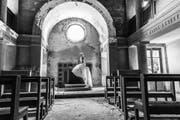 Eine Aufnahme in der Kapelle des ehemaligen Kinderheimes in Norditalien. (Bild: Sacha Rüede)