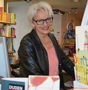 Buchhändlerin Charlotte Kehl ist die Initiantin des Schreibwettbewerbs und der Lesenacht. (Bild: Georg Stelzner)
