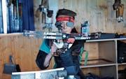 Der 16-jährige Jungschütze Robin Bleiker vom Armbrustschützenverein Stein kann immer wieder gute Resultate vorweisen. (Bilder: Alessia Pagani)