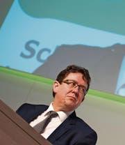 Steht seit einem Jahr an der Spitze der SVP: Albert Rösti. (Bild: Gian Ehrenzeller/KEY (Appenzell, 25. März 2017))