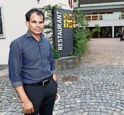 «Sandro» Saravanamuthu will den «Stadthof» mit neuem Konzept beleben. (Bild: Rudolf Hirtl (August 2016))