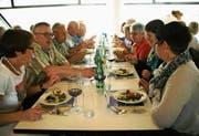 Der Mittagstreff in Herisau ist ein beliebter Treffpunkt für Seniorinnen und Senioren. Der Anlass ist jedoch nicht allen bekannt. (Bild: PD)