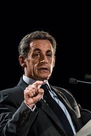 Frankreichs Ex-Präsident muss Irregularitäten bei der Finanzierung seiner Wahlkampagne von 2007 erklären. (Bild: CHRISTOPHE PETIT TESSON (EPA))