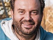 Florian Rexer Schauspieler und Regisseur, Veranstalter alternativer Advent Romanshorn (Bild: Urs Bucher)