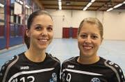 Mireille Klement (links) und Rea Morgenegg. (Bild: Res Lerch)