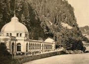 Sakrale Note: Die 1876 erstellte Trinkhalle des Kurhauses Tarasp. (Bild aus: «Badekultur», Verlag Hier und jetzt)