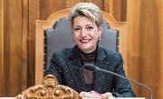 Die Wiler FDP-Politikerin und Ständerätin Karin Keller-Sutter. (Bild: Anthony Anex/Keystone)
