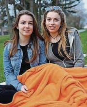 Corine Fischer und Sara-Jane Demeulemeester aus Steckborn.