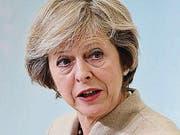 Die britische Premierministerin Theresa May. (Bild: AP)