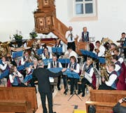 Die Musikgesellschaft Reute überzeugte mit ihren Beiträgen am Sonntag. (Bild: IKS)
