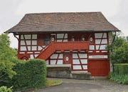 Das Heimatmuseum in Oberweningen. Früher ein Speicher, zeigt es auf zwei Etagen das bäuerliche Leben früherer Tage.