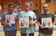 Die neuen Ehrenmitglieder Daniel Grossklaus, Bernhard Gehri und Röbi Heeb (von links). (Bilder: PD)