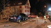 Auf der Appenzellerstrasse ereignete sich der Unfall. (Bild: Kapo SG)