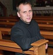 Roman Stahl in der katholischen Kirche in Bazenheid. Hier wird er in Zukunft öfters sein. (Bild: Beat Lanzendorfer)