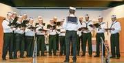 Der Männerchor Lommis unterhält sein Publikum unter dem Motto «Auf hoher See». (Bild: PD)